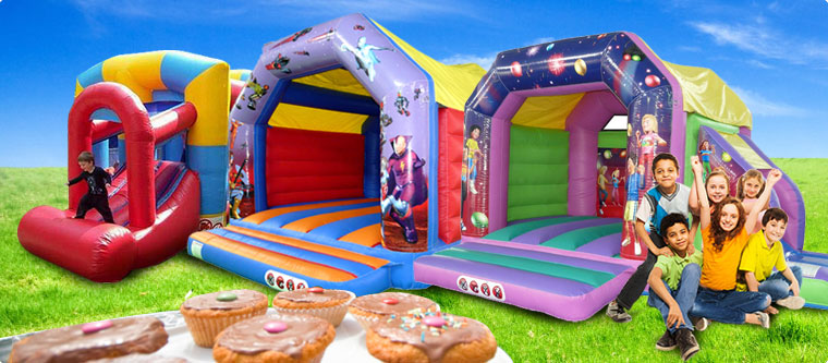 Bouncy castle hire in London